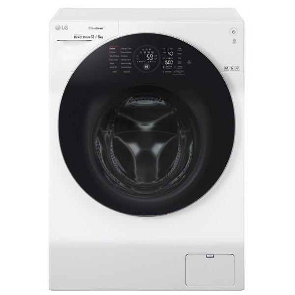 LG 12KG / 8KG Steam Washer Dryer (Inverter) FG1612H2W
