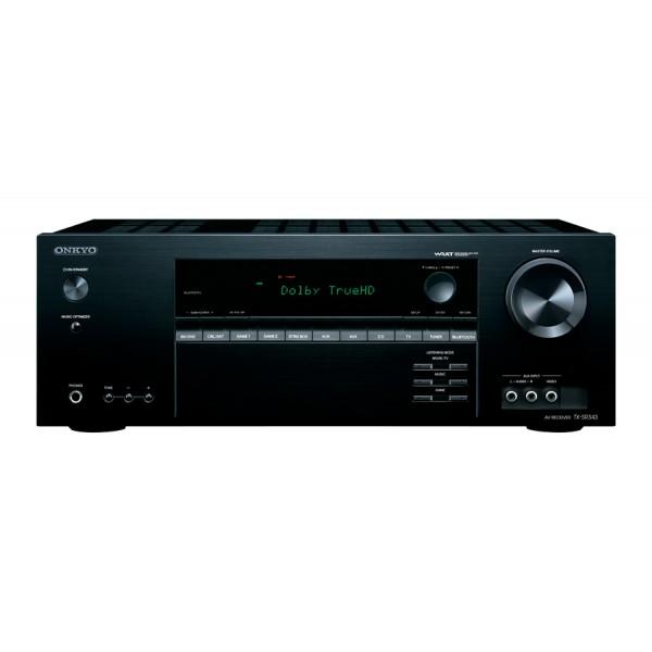 """Onkyo 5.1"""" AV Receiver + Home Theatre Speaker System TXSR343/SKSHT728"""