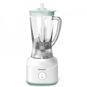 PANASONIC 1.0L Blender with Dry Mill + Safety Design (White)