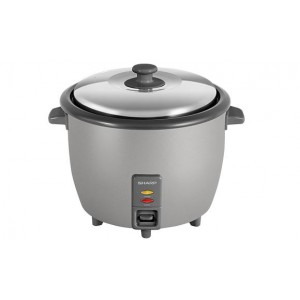 SHARP 1.8L RICE COOKER (SILVER)