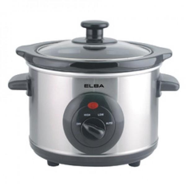 Elba 1.5L Slow Cooker ESC-D1538(SS)