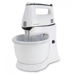 Sharp 300W Stand Mixer EMS-60WH